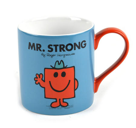 Mr Strong - Full Colour Mr Men And Little Miss Mug Collection