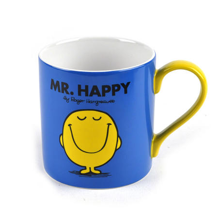 Mr Happy - Full Colour Mr Men And Little Miss Mug Collection