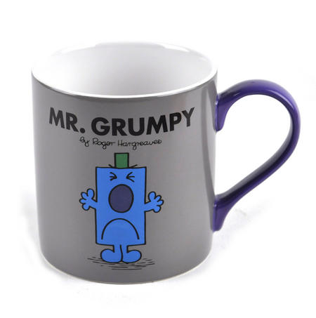 Mr Grumpy - Full Colour Mr Men And Little Miss Mug Collection