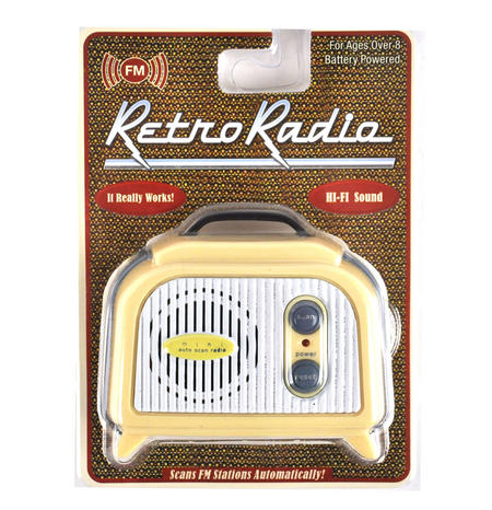 Retro Radio - Miniature FM Radio - Random Designs