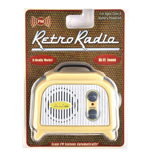 Retro Radio - Miniature FM Radio - Random Designs Thumbnail 1