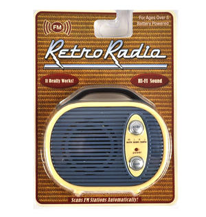 Retro Radio - Miniature FM Radio - Random Designs Thumbnail 7