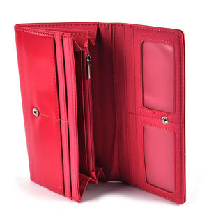 Owl Rest - Long Wallet - Fuschia Thumbnail 3