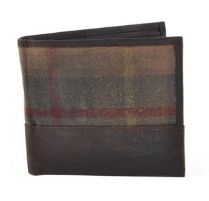 Millerain Green Check Wallet Thumbnail 4