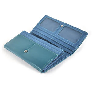 Owl Rest - Long Wallet - Blue Thumbnail 2