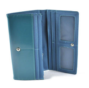 Owl Rest - Long Wallet - Blue Thumbnail 3