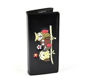 Owl Rest - Long Wallet - Black Thumbnail 6