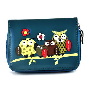Owl Rest - Medium Wallet - Blue Thumbnail 2