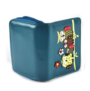 Owl Rest - Medium Wallet - Blue Thumbnail 3