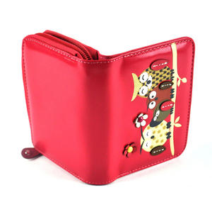 Owl Rest - Medium Wallet - Fuschia Thumbnail 3