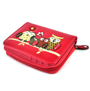 Owl Rest - Medium Wallet - Fuschia Thumbnail 6