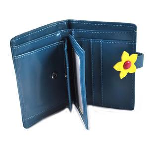 Turtle Medium Wallet - Blue Thumbnail 3