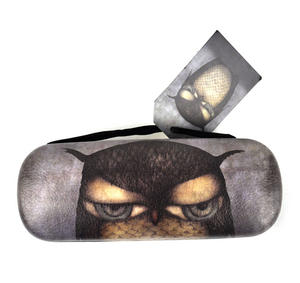 Grumpy Owl Glasses Case Thumbnail 3