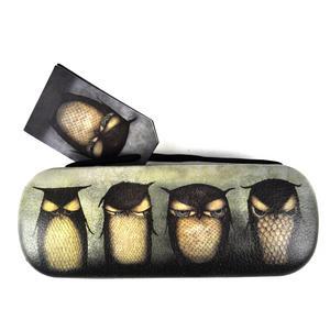 Grumpy Owl Glasses Case Thumbnail 4