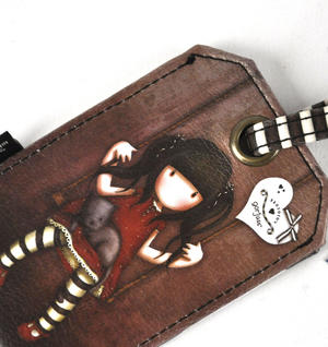 Gorjuss Ruby Luggage Tag Thumbnail 2