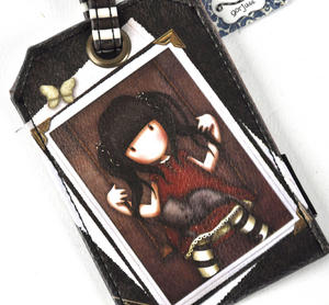 Gorjuss Ruby Luggage Tag Thumbnail 4