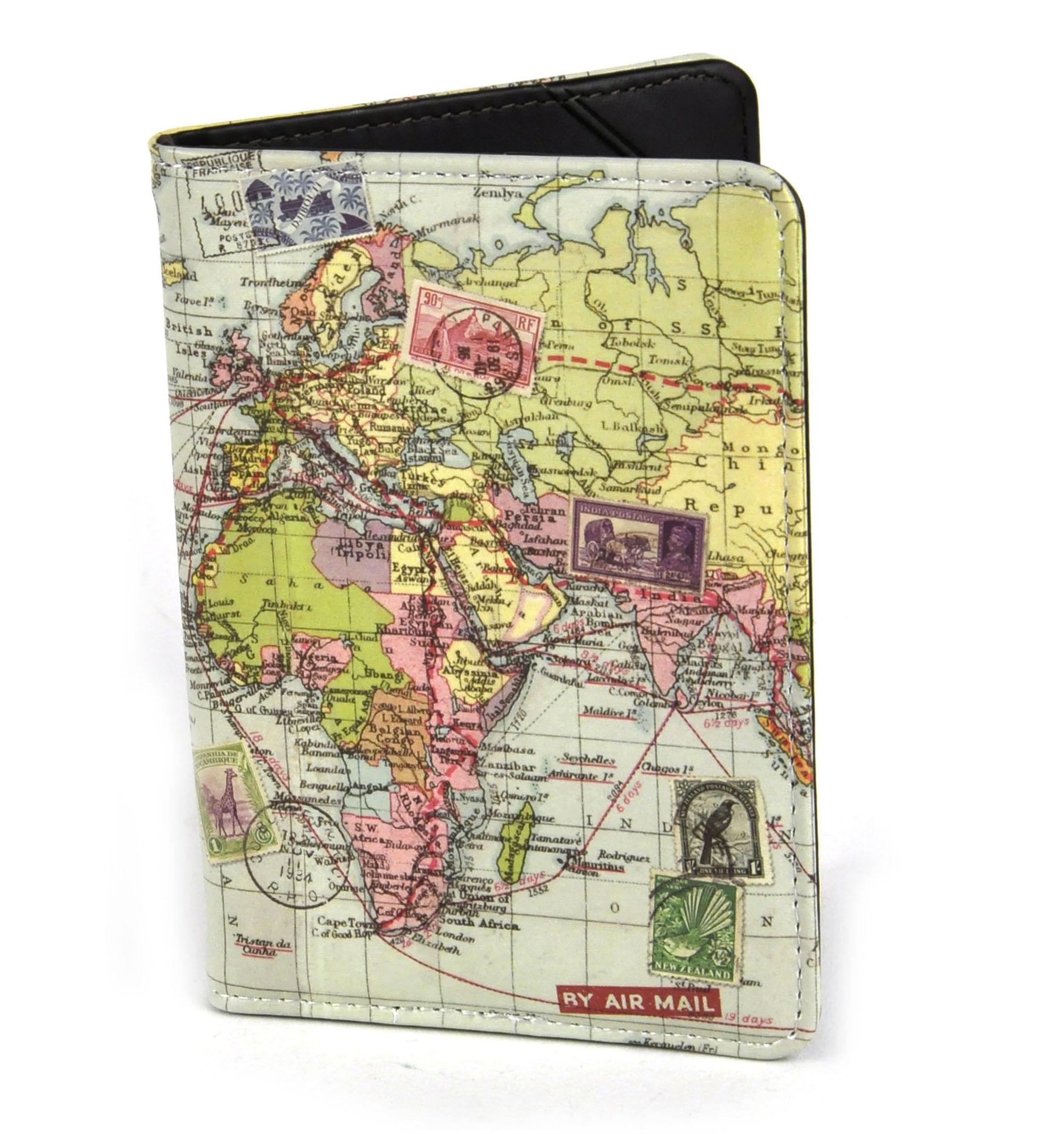 World Map Passport Holder.Global Map Passport Holder Pink Cat Shop
