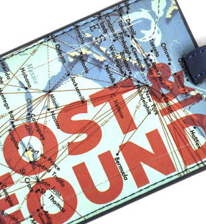 Cartography Lost and Found Luggage Tag Thumbnail 2