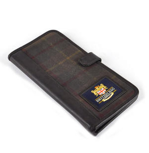 Millerain Green Check Travel Documents Wallet / Organiser Thumbnail 6