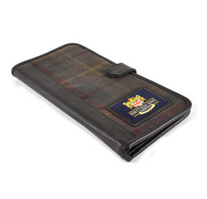 Millerain Green Check Travel Documents Wallet / Organiser Thumbnail 7