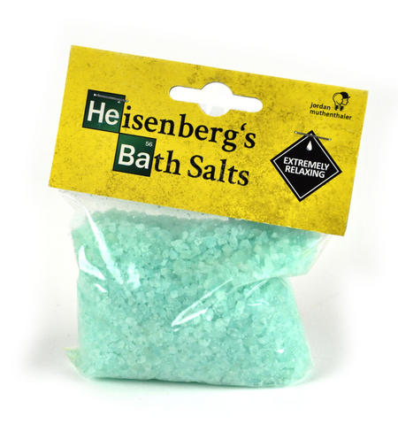 Heisenberg's Breaking Bad Crystal Meth Bath Salts