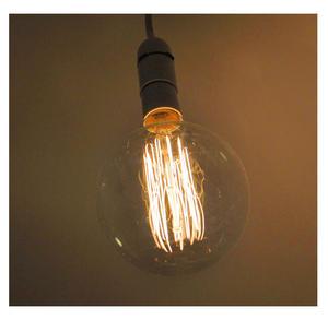 "Vintage Element Light Bulb - ABC 2505 - Round Clear Glass 40 Watts - 12cm / 5"" Thumbnail 5"