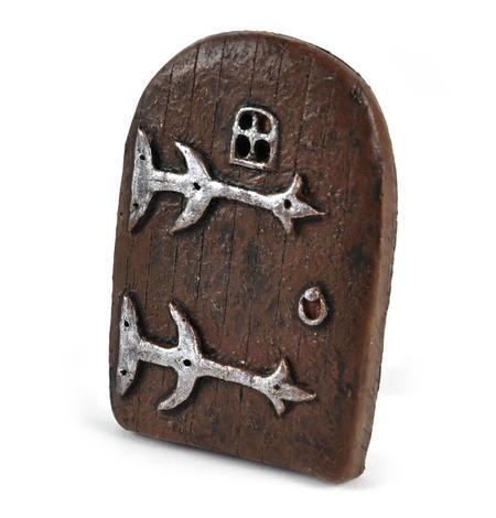 "9cm / 3.5"" Small Rounded Magical Fairy Door  - Fiddlehead Fairy Garden Collection"