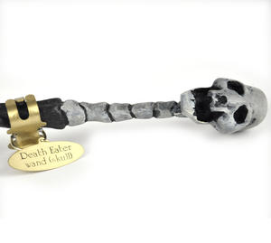 Harry Potter Replica Skull Death Eater Wand Thumbnail 3