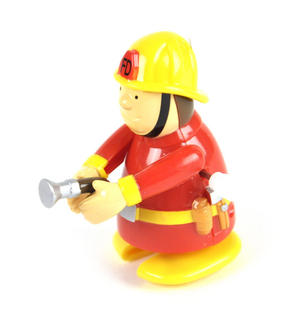 Clockwork  Racing Wind Up Fireman - Random Designs Thumbnail 5