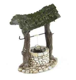 Fairy Village Wishing Well - Fiddlehead Fairy Garden Collection Thumbnail 3