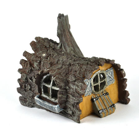 Log  House Fairy Home - Fiddlehead Fairy Garden Collection