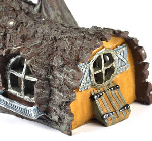 Log  House Fairy Home - Fiddlehead Fairy Garden Collection Thumbnail 2