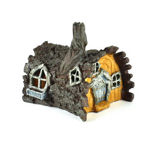 Log  House Fairy Home - Fiddlehead Fairy Garden Collection Thumbnail 6