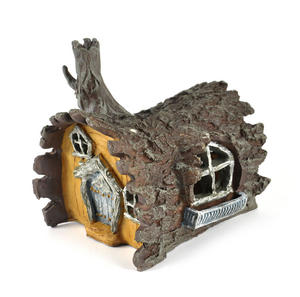 Log  House Fairy Home - Fiddlehead Fairy Garden Collection Thumbnail 8