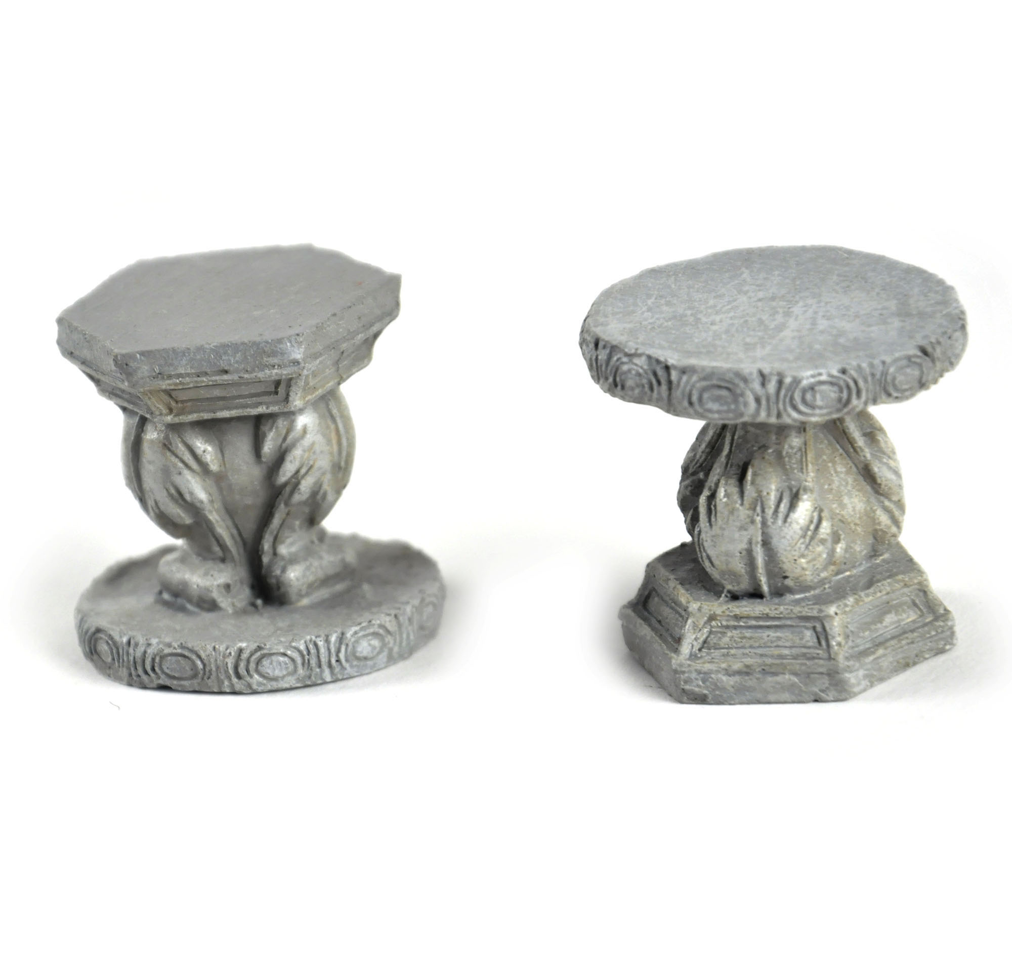 Fairy Stone Garden Stools   Fiddlehead Fairy Garden Collection