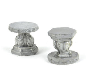 Fairy Stone Garden Stools - Fiddlehead Fairy Garden Collection Thumbnail 1