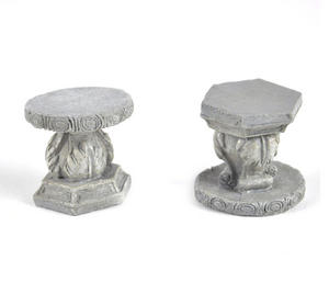 Fairy Stone Garden Stools - Fiddlehead Fairy Garden Collection Thumbnail 4