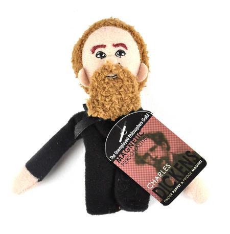 Charles Dickens Finger Puppet & Fridge Magnet