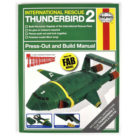Thunderbirds 2 & 4 Press Out and Build Manual