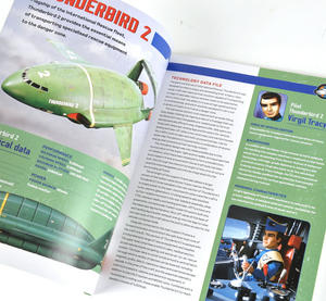 Thunderbirds 2 & 4 Press Out and Build Manual Thumbnail 2