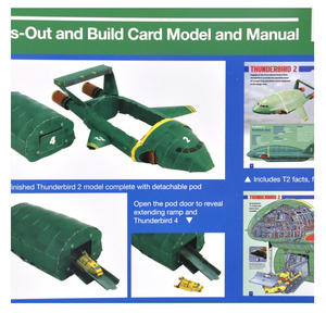 Thunderbirds 2 & 4 Press Out and Build Manual Thumbnail 3