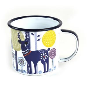 Folklore Daytime Woodland Enamel Mug Thumbnail 1