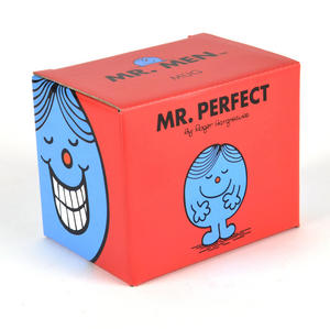 Mr Perfect - Full Colour Mr Men And Little Miss Mug Thumbnail 3