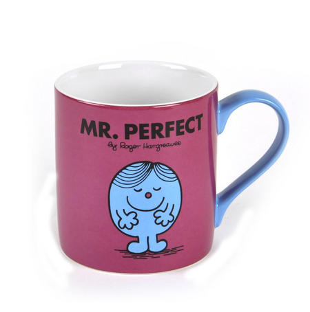 Mr Perfect - Full Colour Mr Men And Little Miss Mug