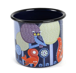 Folklore Night-time Woodland Enamel Mug Thumbnail 2