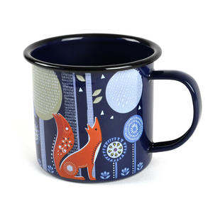 Folklore Night-time Woodland Enamel Mug Thumbnail 3