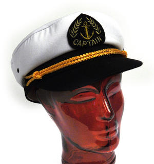 Captain's 56cm Yachting / Boating Peaked Cap Thumbnail 3