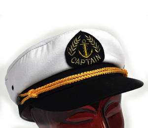 Captain's 57cm Yachting / Boating Peaked Cap Thumbnail 2