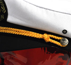 Captain's 57cm Yachting / Boating Peaked Cap Thumbnail 4