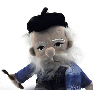 Claude Monet Soft Toy - Little Thinkers Doll Thumbnail 1